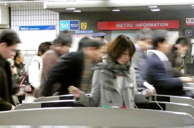 Metrô de Tóquio, Japão (Karyn Poupee/AFP/Getty Images)