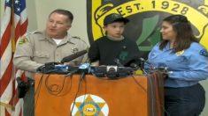 Menino de sete anos salva família de três assaltantes armados