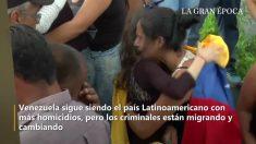 Venezuela é um dos países Latino Americanos com mais homicídios, apesar de criminosos migrarem devido à pobreza (Vídeo)
