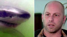 Homem vai para hospital depois de ataque de tubarão e descobre que o tubarão salvou sua vida