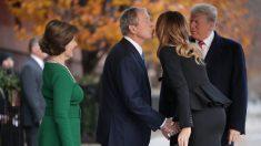 Laura Bush agradece Melania Trump pela gentileza perante a morte do ex-presidente Bush