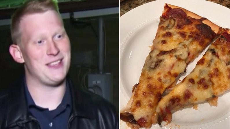 Funcionário dirige 720 km para entregar pizza favorita a homem que estava prestes a morrer
