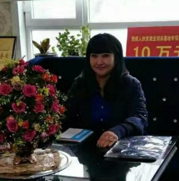 Empresária Gulbukhar Jalilova, 54 anos, ex-prisioneira uigur em Xinjiang, China (Gulbukhar Jalilova)