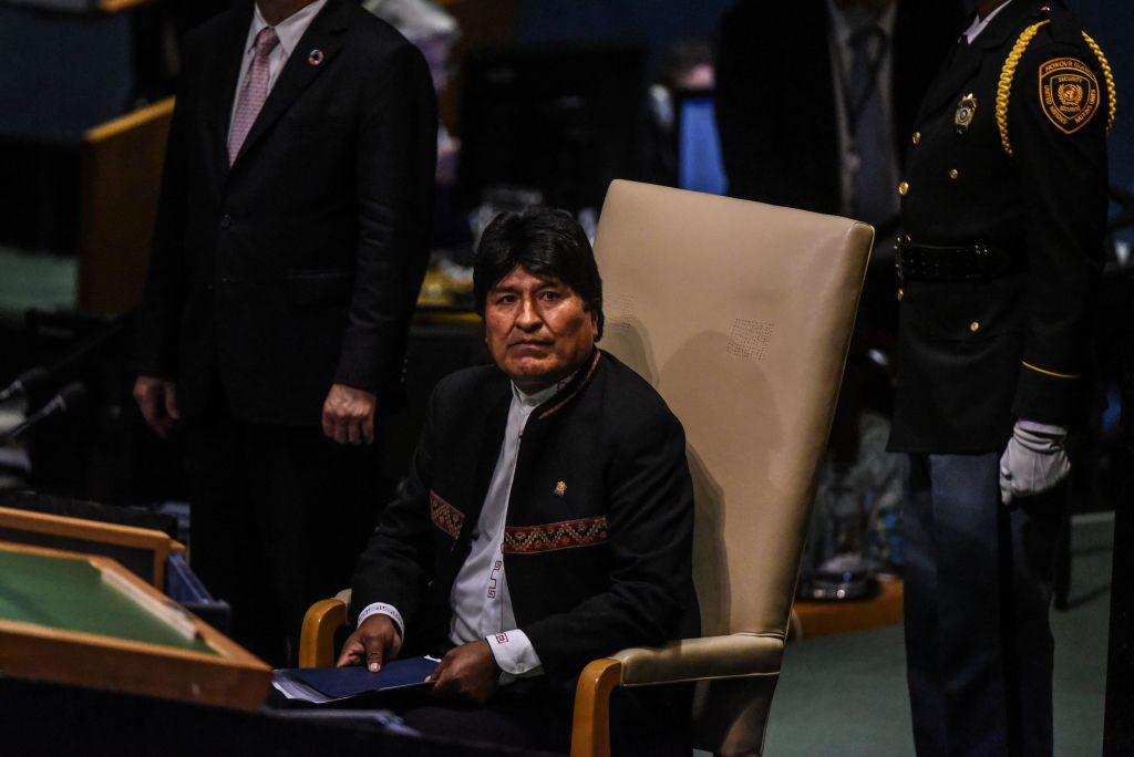 Evo Morales (Stephanie Keith/Getty Images)