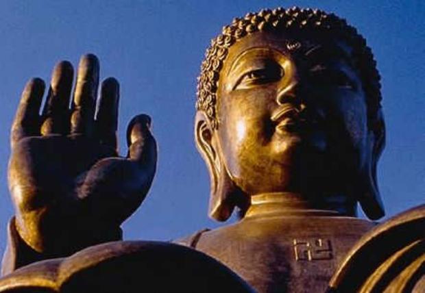 Suásticas são o símbolo do Buda (en.minghui.org)