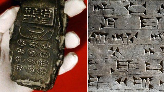 """Telefone celular """"alienígena"""" de 800 anos e os mitos da internet"""
