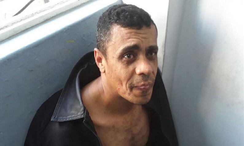 Adélio Bispo de Oliveira, autor confesso da facada, que está preso no presídio federal em Campo Grande (MS) (Divulgação/Assessoria de Comunicação Organizacional do 2° BPM)