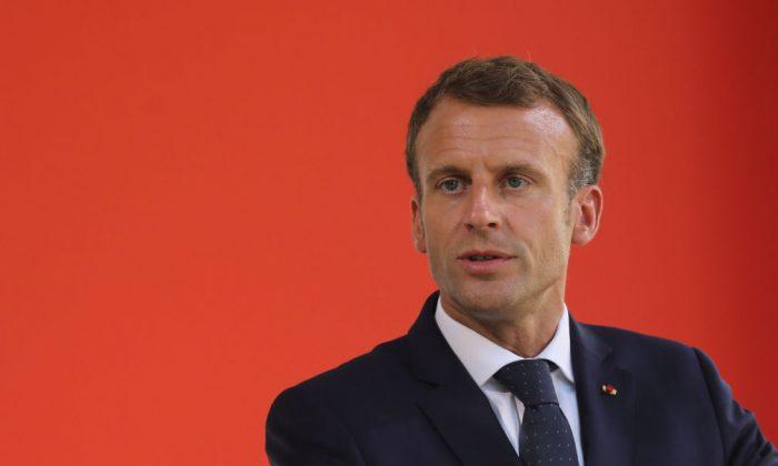 Macron faz chamada por assinatura de pacto mundial pelo meio ambiente