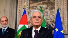 Presidente da Itália repreende jogos políticos dos populistas
