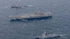 Contra-almirante chinês sugere afundar dois porta-aviões para intimidar EUA