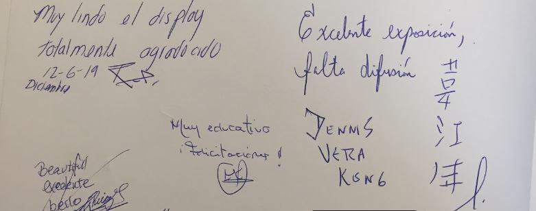 """Comentários deixados no Livro de Visitantes da Exposição de Arte """"Verdade, Benevolência, Tolerância"""" (Epoch Times)"""