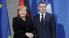 """Merkel diz que novo tratado franco-alemão é """"necessário"""" para impulsionar UE"""