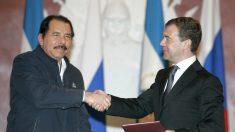 """Ortega é condecorado pelo Partido Comunista russo por """"contribuição à paz"""""""