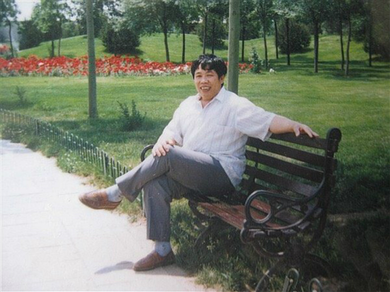 Foto antiga de Han Jun Qing (Imagem cedida por Han Yu)