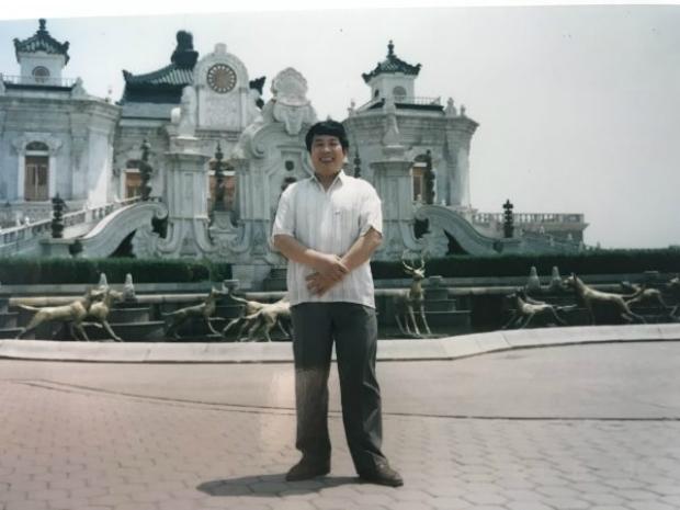 Antiga imagem de Han Jun Qing (Imagem cedida por Han Yu)