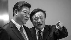 A relação entre Huawei e as facções do regime chinês