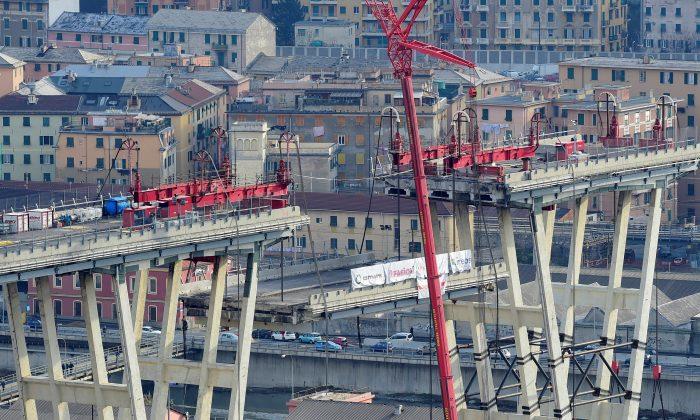 Ponte de Gênova projeta um marco raro para a construção italiana atolada na burocracia