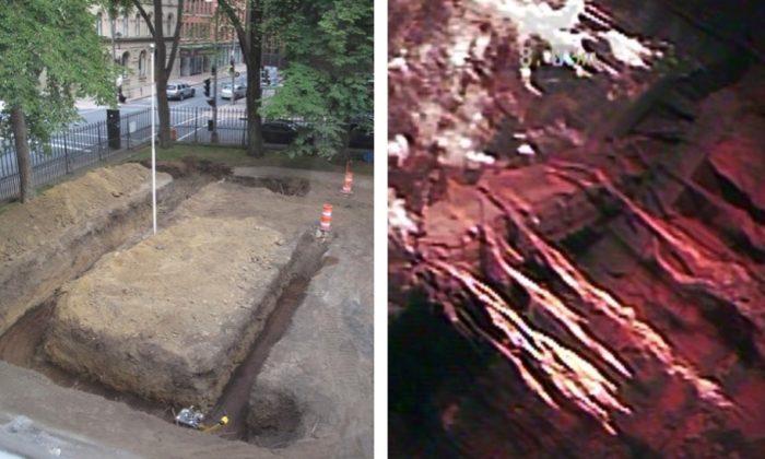 Câmara subterrânea misteriosa é encontrada em terrenos do prédio do governo canadense