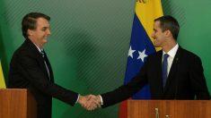 """Bolsonaro diz estar comprometido com Guaidó até que a Venezuela consiga """"democracia e liberdade"""""""