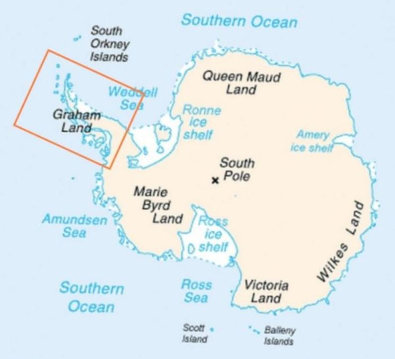 Península Antártica (Wikimedia Commons)