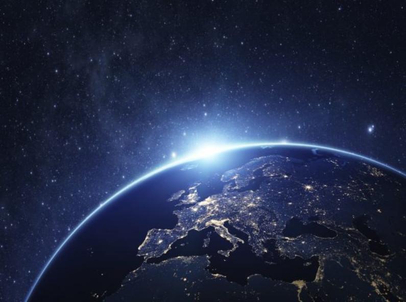 Planeta Terra visto do espaço (NASA)