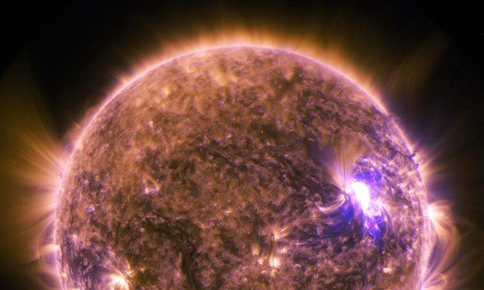 """""""Ameaça à sociedade moderna"""": cientistas dizem que tempestade solar maciça atingiu a Terra há 2.600 anos"""