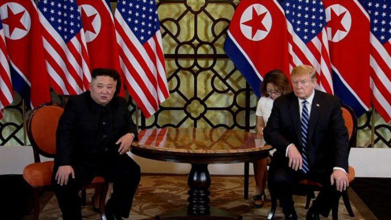 Cúpula Trump-Kim termina sem acordo