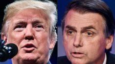 Trump receberá o presidente Jair Bolsonaro na Casa Branca