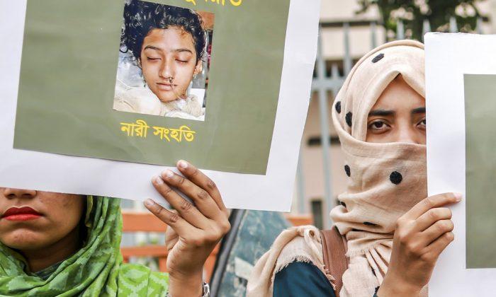 Estudante de Bangladesh de 19 anos é incendiada por denunciar abuso sexual