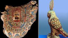 Artefatos e múmias de dois mil anos descobertos em tumba egípcia