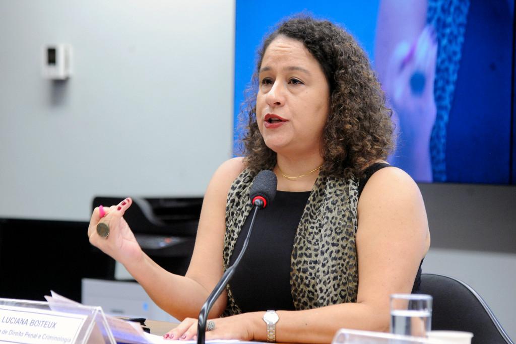 Luciana Boiteux: não há relação comprovada entre penas mais duras e redução da criminalidade (Cleia Viana/Câmara dos Deputados)