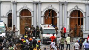 Ataques terroristas em três igrejas durante a celebração de Páscoa no Sri Lanka (Vídeo)