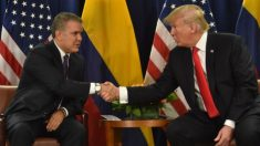 """Trump diz que Colômbia """"não faz nada"""" para reduzir fluxo de drogas para os EUA"""