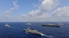 EUA, Japão, Índia e Filipinas desafiam Pequim com exercício naval no Mar do Sul da China