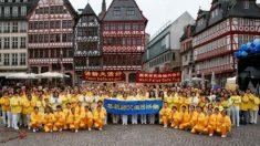 Europa: Praticantes e apoiadores celebram o 20º Dia Mundial do Falun Dafa (Fotos)