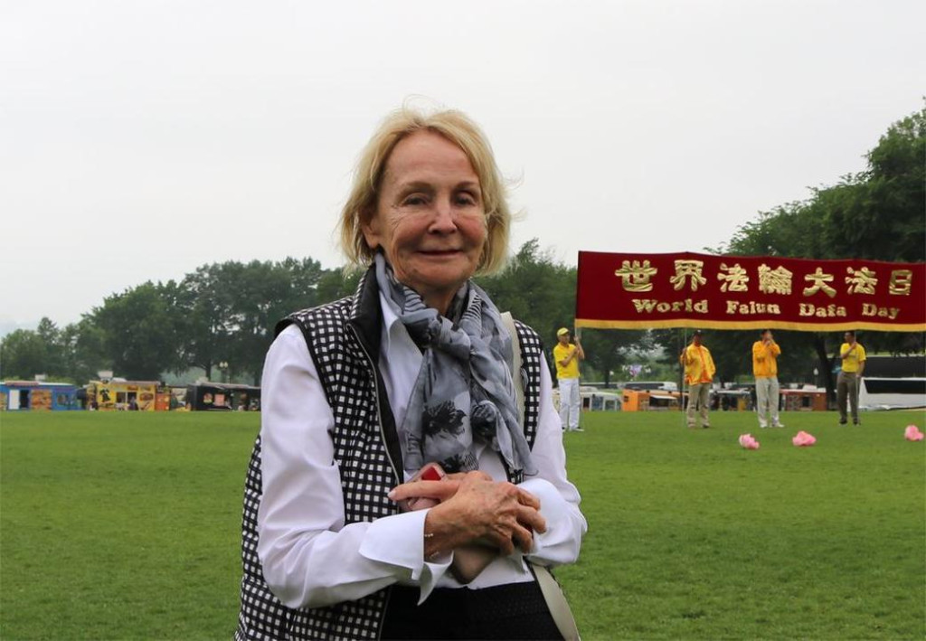 Barbara, turista (Minghui.org)