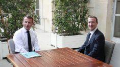 Macron discute com Zuckerberg regulação do discurso de ódio na internet