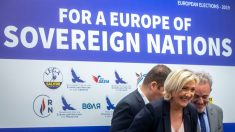 Projeções apontam vitória de Le Pen nas eleições europeias na França