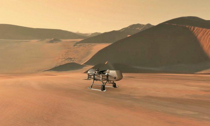 NASA envia drone Dragonfly para explorar Titã, a maior lua de Saturno