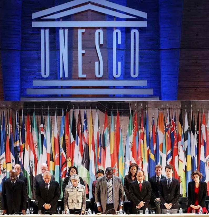 Na sede mundial da UNESCO foi feita a apresentaçãoda Declaração Universal dos Direitos dos Animais em 15-10-1978 (Reprodução)