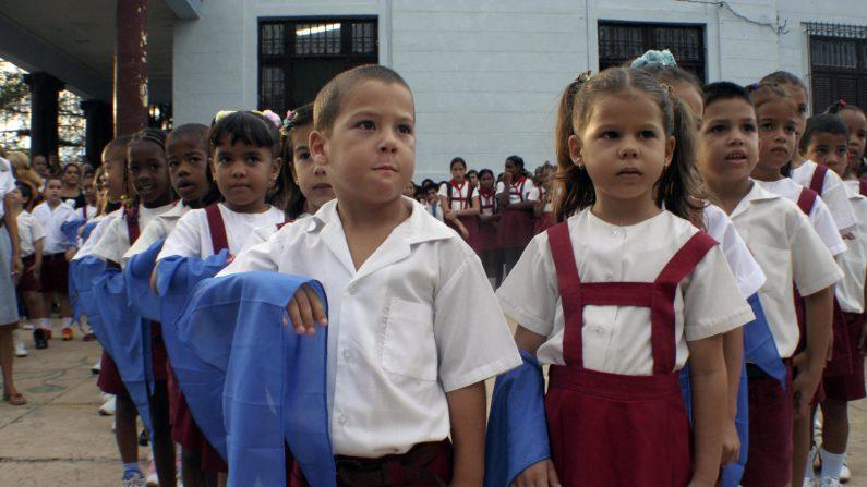 Escola cubana doutrina estudantes através de um exercício de matemática (Vídeo)