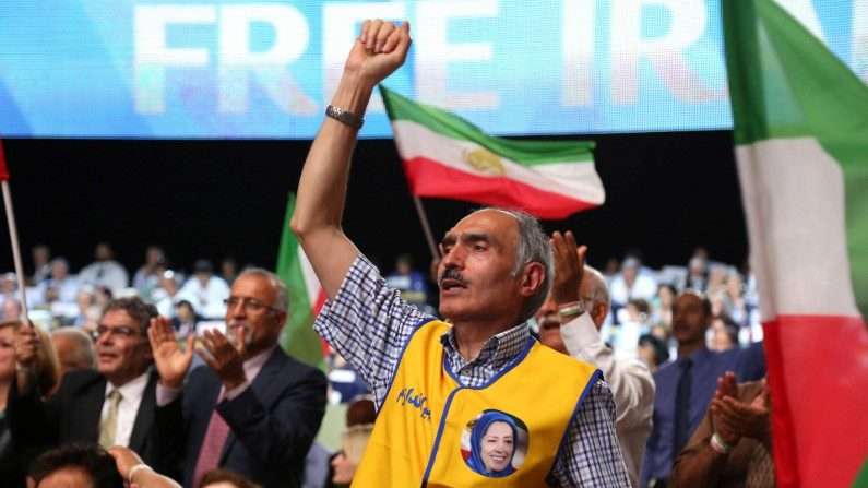 Iranianos se manifestam nos EUA para pedir que governo do Irã seja derrubado