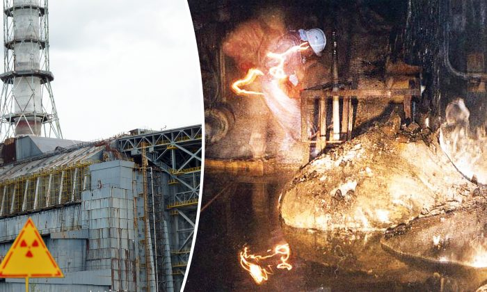 Assombrosa foto tirada das entranhas de Chernobyl mostra horripilante lava radioativa
