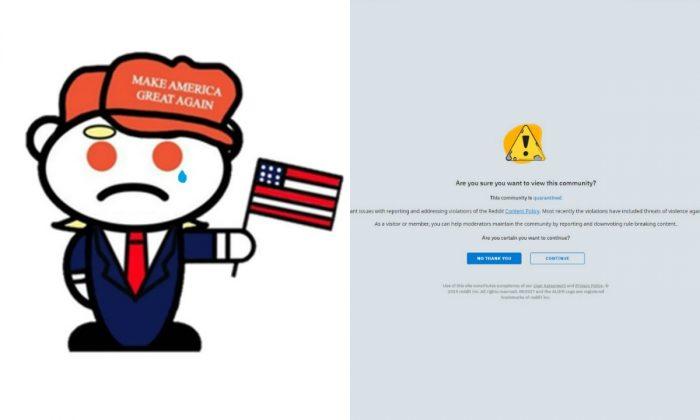 """Maior comunidade pró-Trump ganha 10.000 membros após """"quarentena"""" do Reddit"""