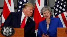Trump diz que a Grã-Bretanha receberá acordo comercial