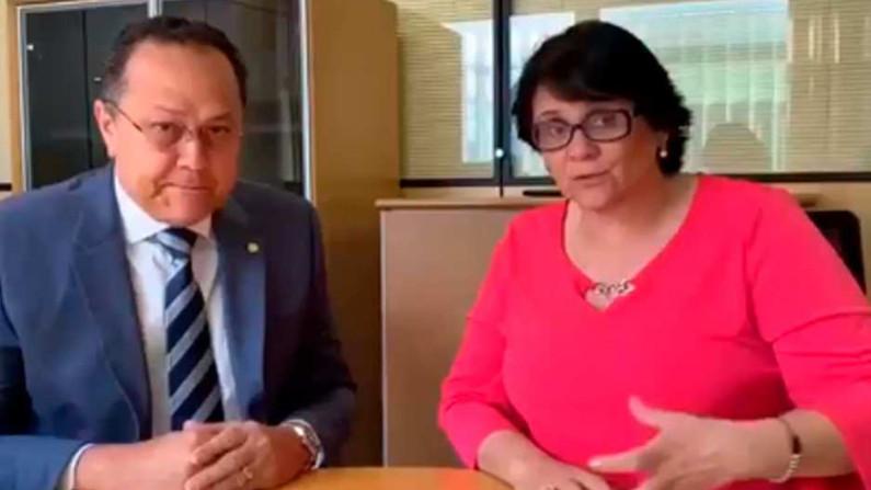 """Damares Alves propõe """"contrarrevolução cultural"""" com apoio da Bancada Evangélica (Vídeo)"""