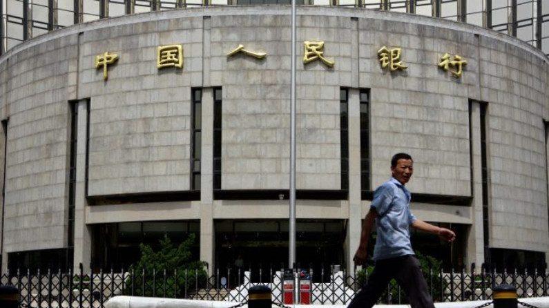 Banco Popular da China reduz ativos em moeda estrangeira em um terço