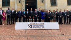 Grupo de Lima se prepara para se reunir na terça-feira na Argentina devido a crise na Venezuela