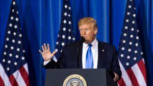"""Trump afirma que tem """"cinco estratégias diferentes"""" para Venezuela (Vídeo)"""