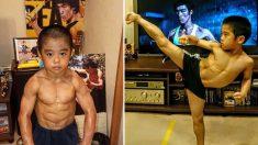 Seria este garoto a encarnação de Bruce Lee? Seus seguidores on-line chamam-no de